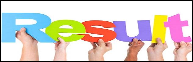 W.B.C.S. Preliminary Examination 2019 Result – A Screening Test.