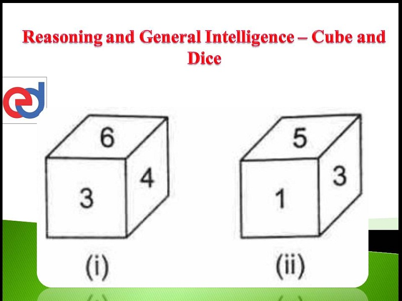 Cube – Logical Reasoning – For W.B.C.S. Examination.