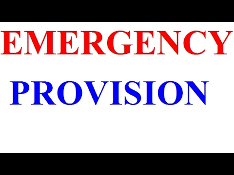 Emergency Provisions – Polity Notes – For W.B.C.S. Examination.
