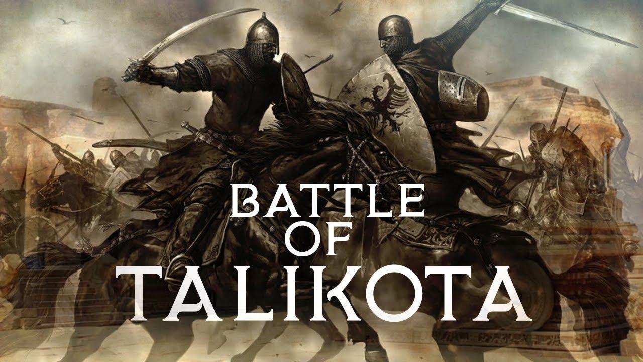 Battle Of Talikota – History Notes – For W.B.C.S. Examination.
