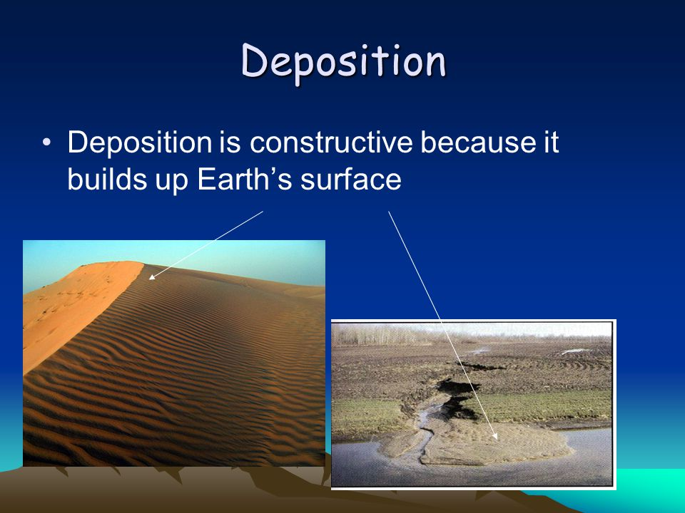 Deposition Of Earth's Material – General Science Notes – For W.B.C.S. Examination.