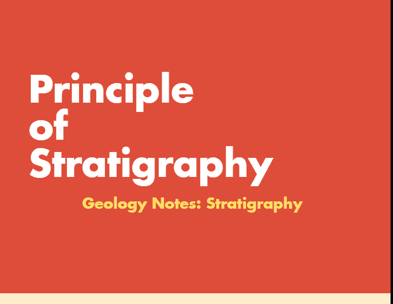 Stratigraphy – Geology Notes – For W.B.C.S. Examination.