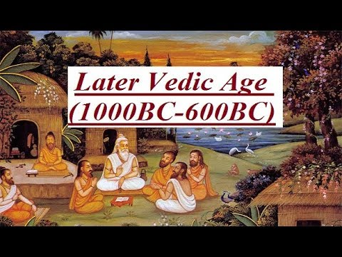 History Notes On – Later Vedic Period – For W.B.C.S. Examination.