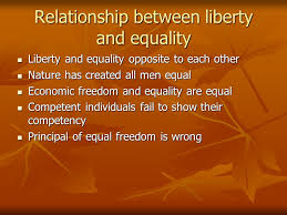 Polity Notes On – Relationship Between Equality And Freedom – For W.B.C.S. Examination.