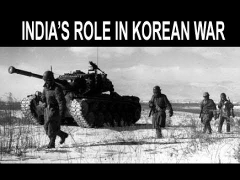 History Notes On – India's Role In Korean War – For W.B.C.S. Examination.