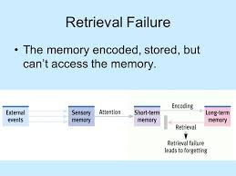 Retrieval Failure -Psychology Notes – For W.B.C.S. Examination.