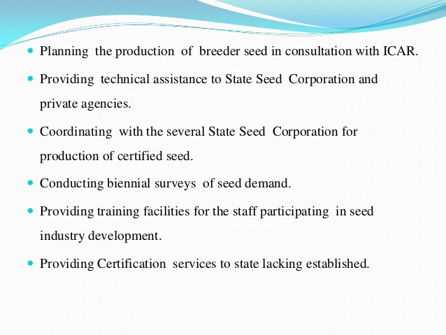 Seed Production And Marketing – Agriculture Notes – For W.B.C.S. Examination.