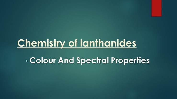 W.B.C.S. Examination Notes On – Chemistry – Spectral Properties.
