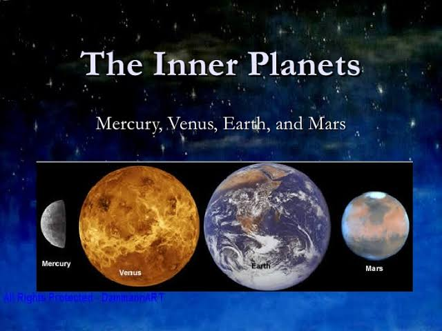 Inner Planets – General Science Notes – For W.B.C.S. Examination.