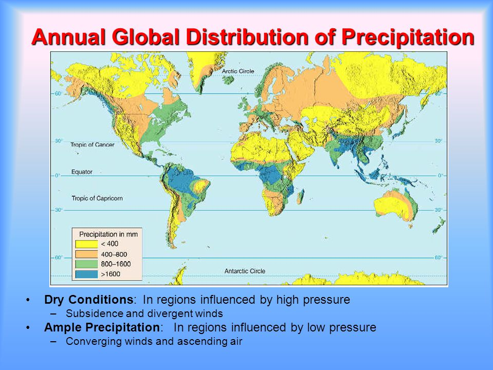 Rainfall Distribution – Geography Notes – For W.B.C.S. Examination.