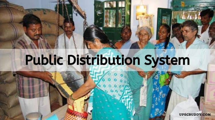 Public Distribution System – Agriculture Notes – For W.B.C.S. Examination.