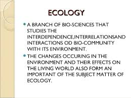 Essay Composition On – Ecology And Its Relevance To Man – For W.B.C.S. Examination.