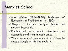 Polity Notes – On – Theories Of The State – Marxist.