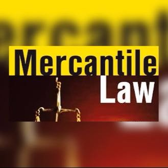 Mercantile Law – Law Notes – For W.B.C.S. Examination.