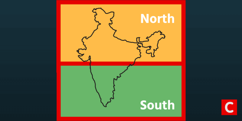 North India – South India Divide – Is there a Growing Regional Divide in India? – Polity Notes For W.B.C.S.