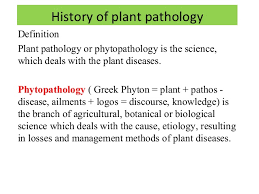 Agriculture Notes On – Plant Pathology – For W.B.C.S. Examination.