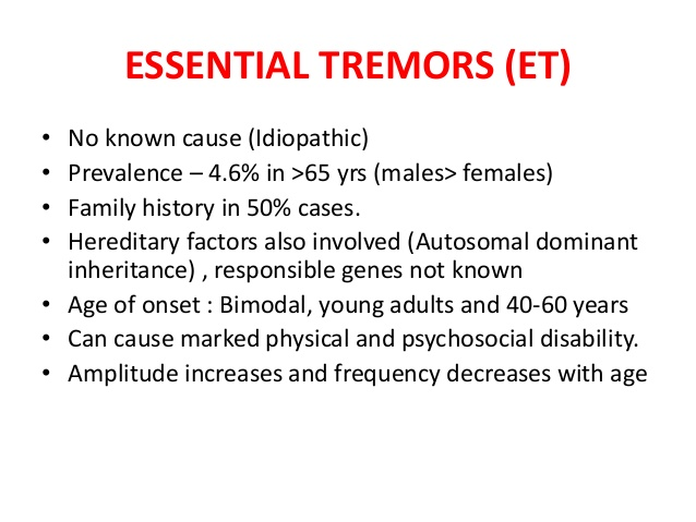 W.B.C.S. Main 2018 Question Answer – Medical Science – Causes Of Tremor.