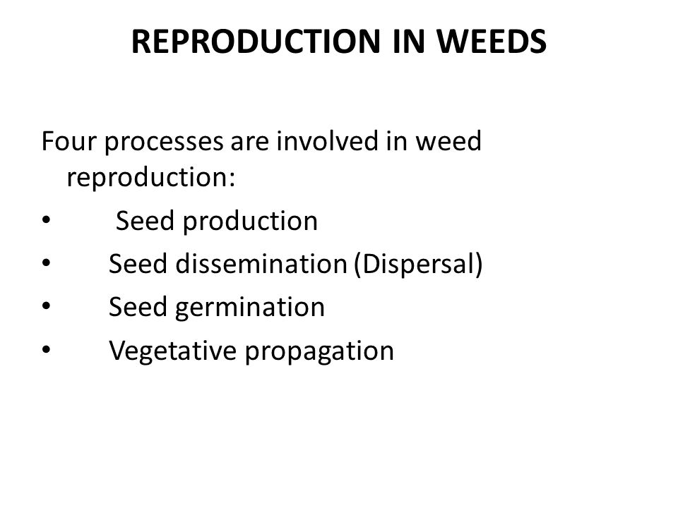 WEED DISSEMINATION – Agriculture Notes – For W.B.C.S. Examination.