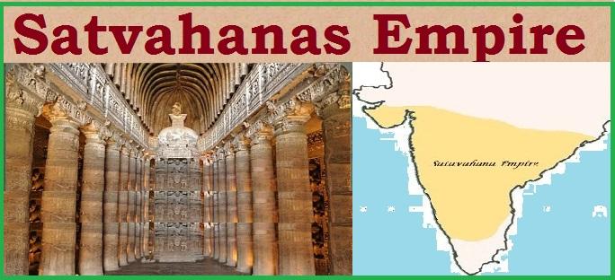 The Satavahanas – Post –  Mauryan India – NCERT Notes For W.B.C.S Examination.