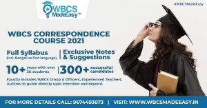 WBCS Correspondence Course 2021