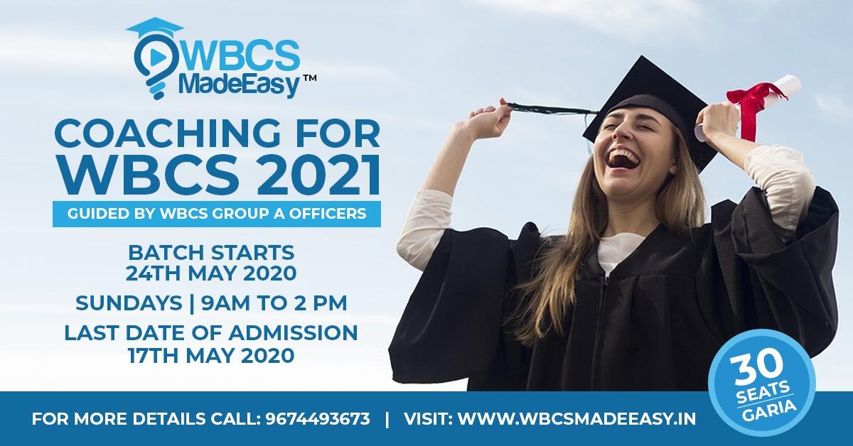WBCS Foundation Course Best Coaching 2021