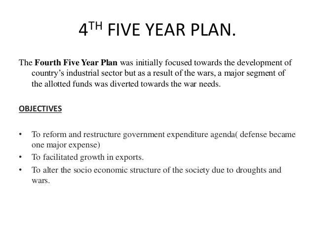 Concepts Of Economics – W.B.C.S. Exam – Fourth Five Year Plan.