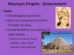 Mauryan Government – W.B.C.S. Examination – Indian History Notes.