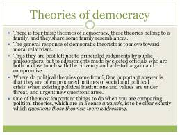 Political Science Notes – For W.B.C.S. Examination – Theories Of Democracy.