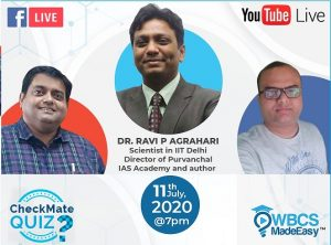 Saturday Live With Soumya – Episode 11 – Topic – How To Prepare Science Tech And Environment With Ravi Agrahari