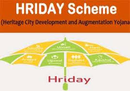 HRIDAY Scheme – National Heritage City Development And Augmentation Yojana – Notes For W.B.C.S. Examination.