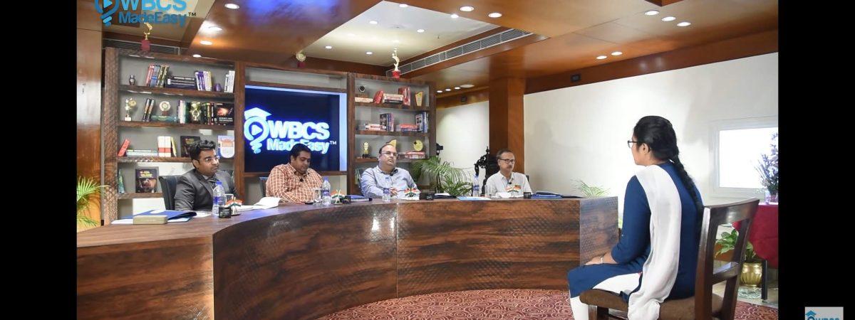 WBCS Mock Interview