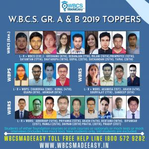 WBCS Final Result 2019 Group A B